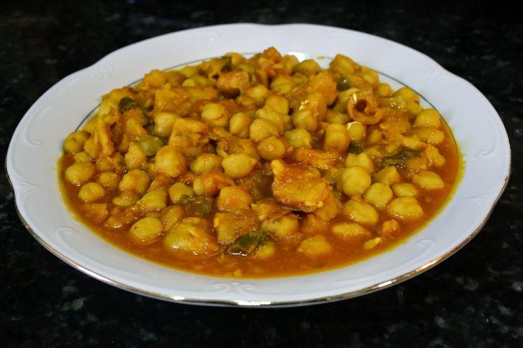 Buena cocina mediterranea potaje de garbanzos con bacalao - Potaje garbanzos con bacalao ...