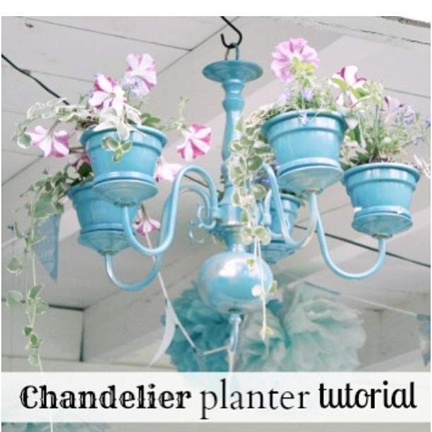 .@DIY Show Off | #diy chandelier planter tutorial @DIY Show Off today. :) | Webstagram - the best Instagram viewer