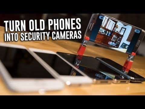 How To Easily Turn Your Old Phone Into a Home Security Camera | 8 Bit Nerds