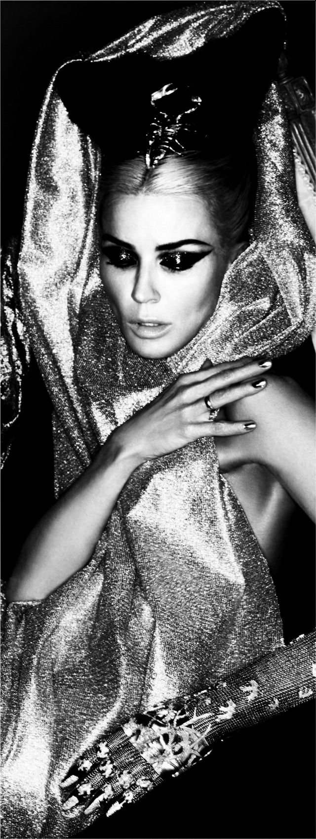 The Daphne Guinness Collection - auction tonight! - SHOWstudio - The Home of Fashion Film Marchesa Luisa Casati Style #gothic princess