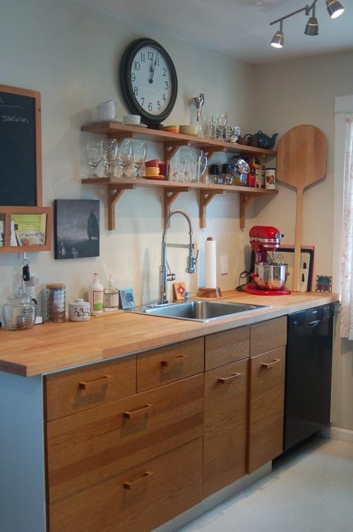 Wood Accents Kitchen · Small Kitchen DesignsKitchen ...