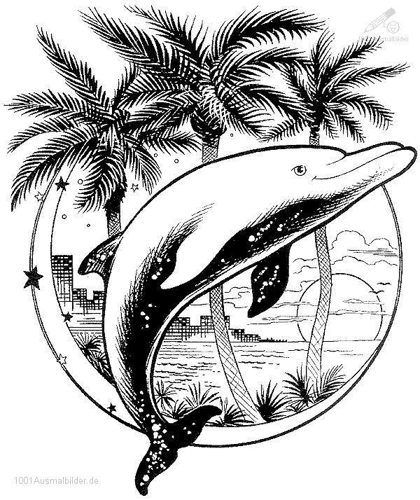 delphin-ausmalbild-11.jpg (600×714)
