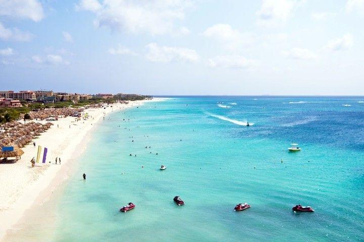 Aruba, isla de las Antillas Menores, mar Caribe.