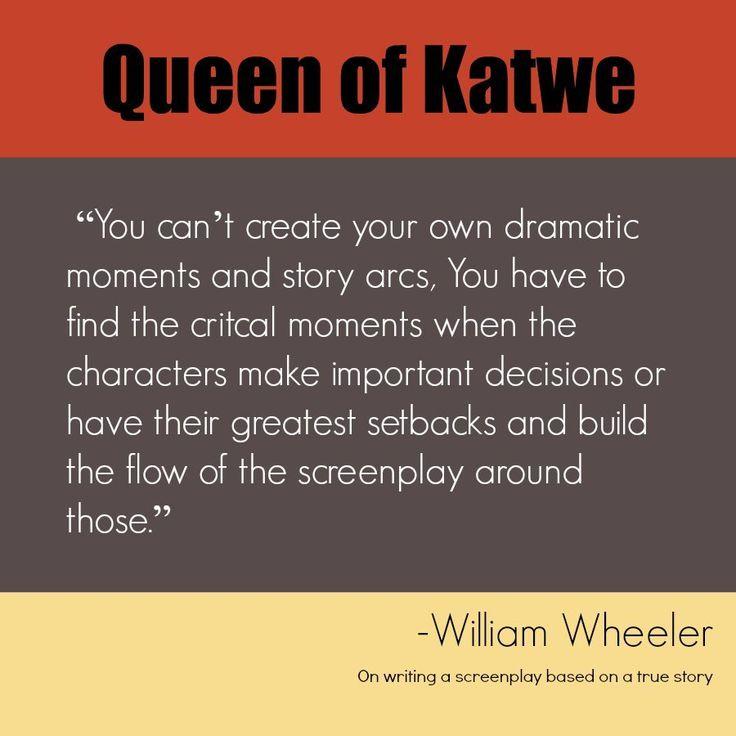 Disney's Queen of Katwe: Bringing the True Story to Film #QueenofKatwe #TheBFGEvent https://babytoboomer.com/2016/09/05/disneys-queen-of-katwe/ #quote