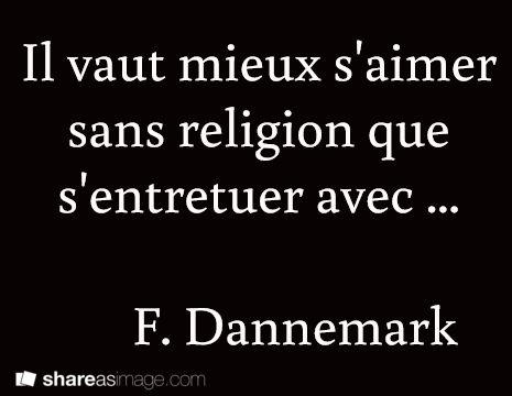 Il Vaut Mieux sans se aimer de la religion au Québec s'entretuer avec ... F. Dannemark....réépinglé par Maurie Daboux .•*`*•. ❥