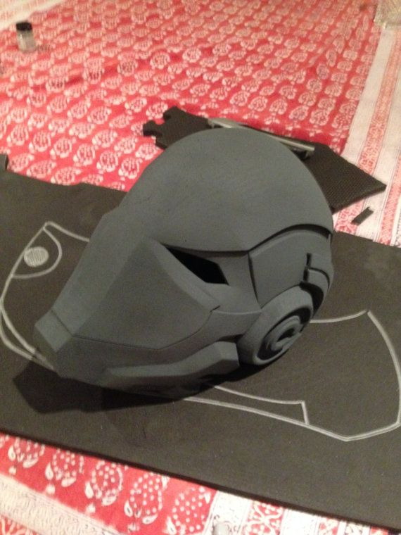 Red Hood Helmet Pre Order by IdiotsArmory on Etsy