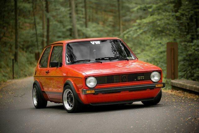VW Golf Mk1 always young