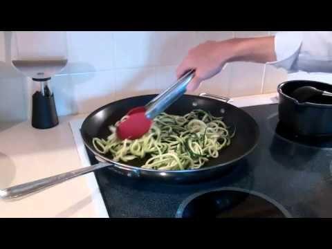 Gluten Free Vegetable Spaghetti GEFU Spirelli - YouTube