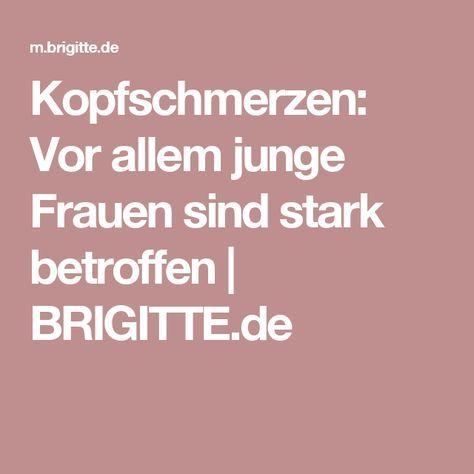 Kopfschmerzen: Vor allem junge Frauen sind stark betroffen | BRIGITTE.de