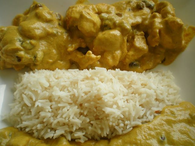 El Puchero de Morguix: Pollo al curry en Thermomix
