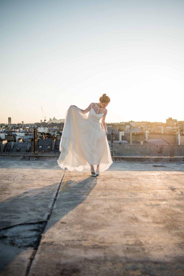 Mademoiselle de Guise | Collection 2016  Robe Louise  Photo : Ce Jour-Là  Weddingdress  Robe de mariée Paris