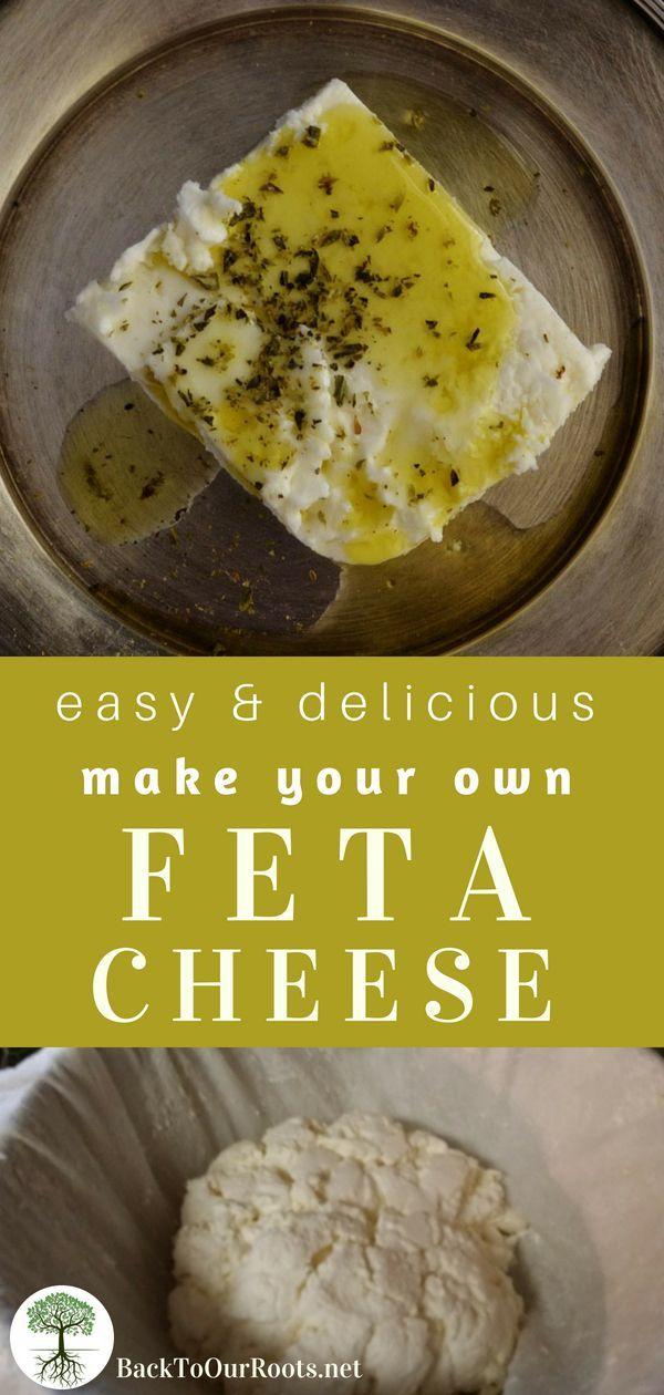 Easy & Delicious Homemade Feta Cheese
