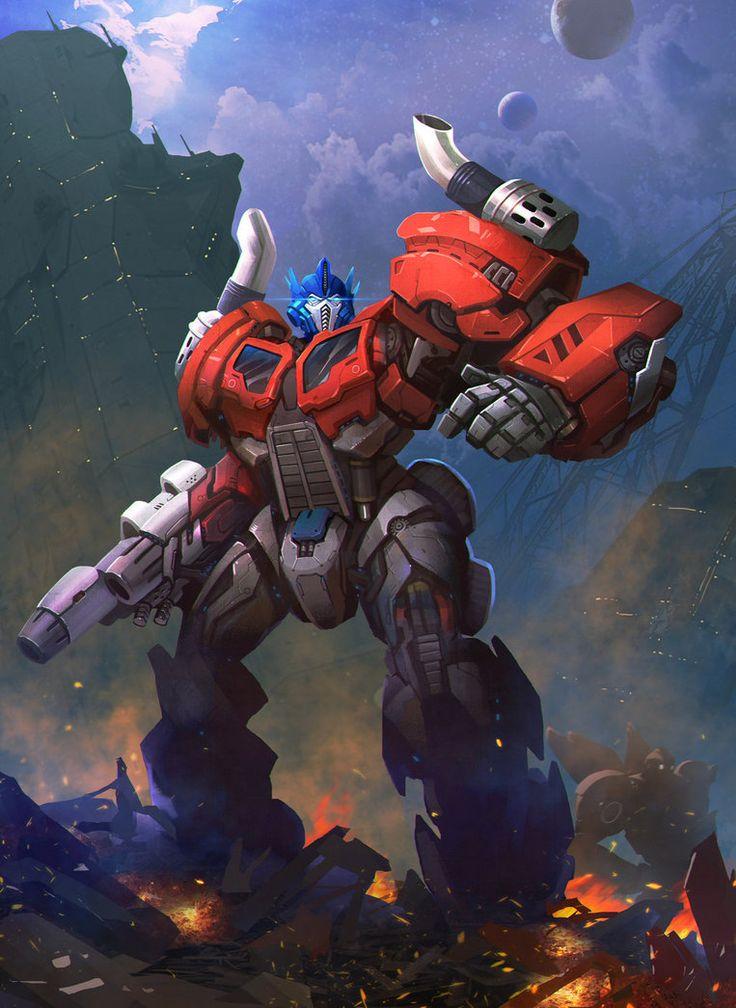 Optimus prime by on deviantart