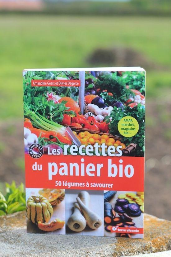 Les recettes du panier bio – Amandine Geers et Olivier Degorce