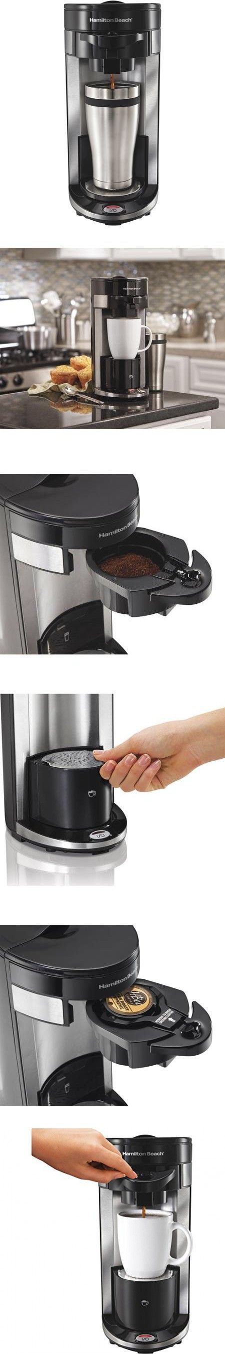 Flex Brew Single-Serve Coffee Maker, Black