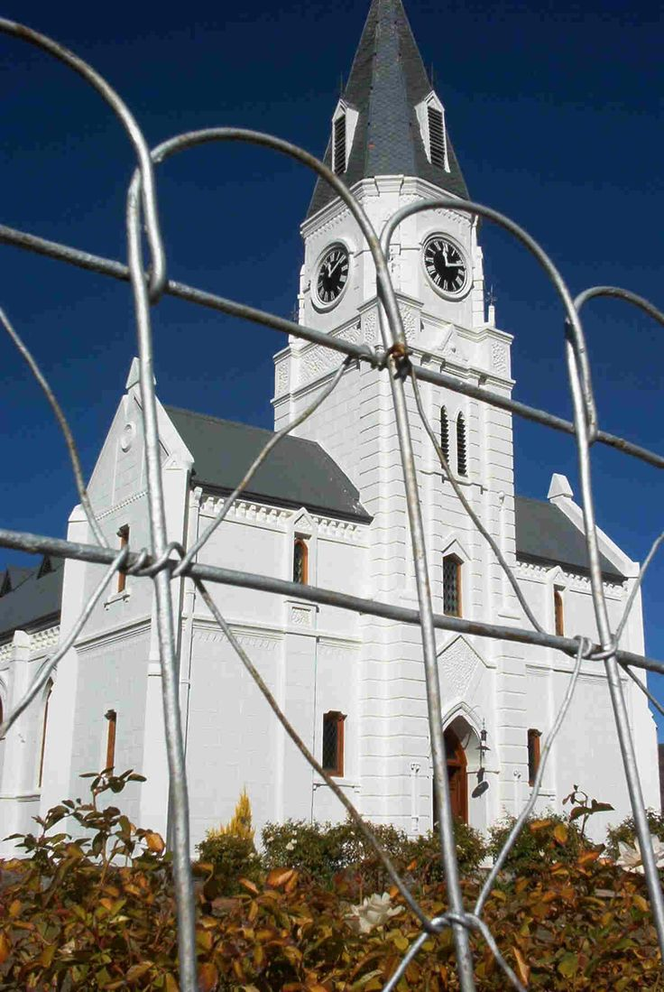 Church -  every village in the Karoo has one!
