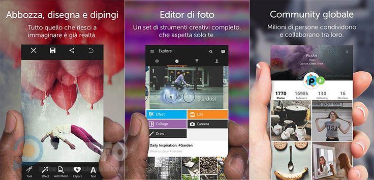 PicsArt – La popolare app di fotoritocco si rinnova su Windows 10   Clipart GRATIS fino al 30 giugno http://www.sapereweb.it/picsart-la-popolare-app-di-fotoritocco-si-rinnova-su-windows-10-clipart-gratis-fino-al-30-giugno/        PicsArt PicsArt è un apprezzato editor fotografico disponibile su diverse piattaforme arrivato su Windows Phone all'inizio del 2014.  Gli sviluppatori, tramite un post sul blog ufficiale Microsoft, segnalano che PicsArt in queste ore ha ricevu