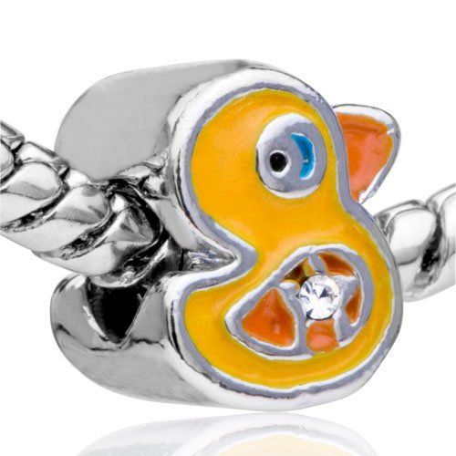Pugster Bead Funny Duck European Charm Bead Fit Pandora Chamilia Biagi Charm Bracelet Pugster. $12.22. Pugster are adding new designs all the time. Unthreaded European story bracelet design. Fit Pandora, Biagi, and Chamilia Charm Bead Bracelets. Free Jewerly Box. Money-back Satisfaction Guarantee