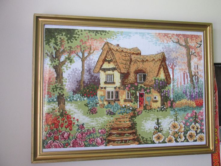 Lilliput Lane- Home is where the heart is # Framed