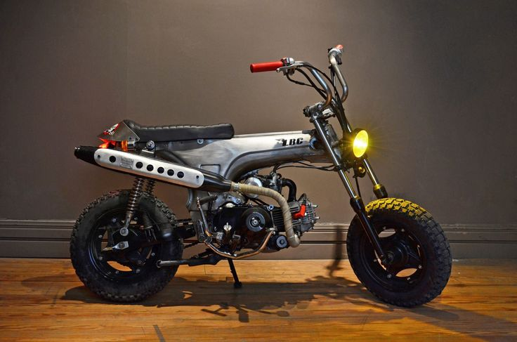 Honda Dax, by Low budget customs.