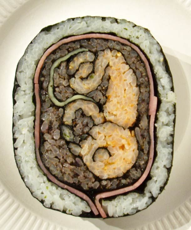 Fetus Sushi Art - EWWWWWWW!