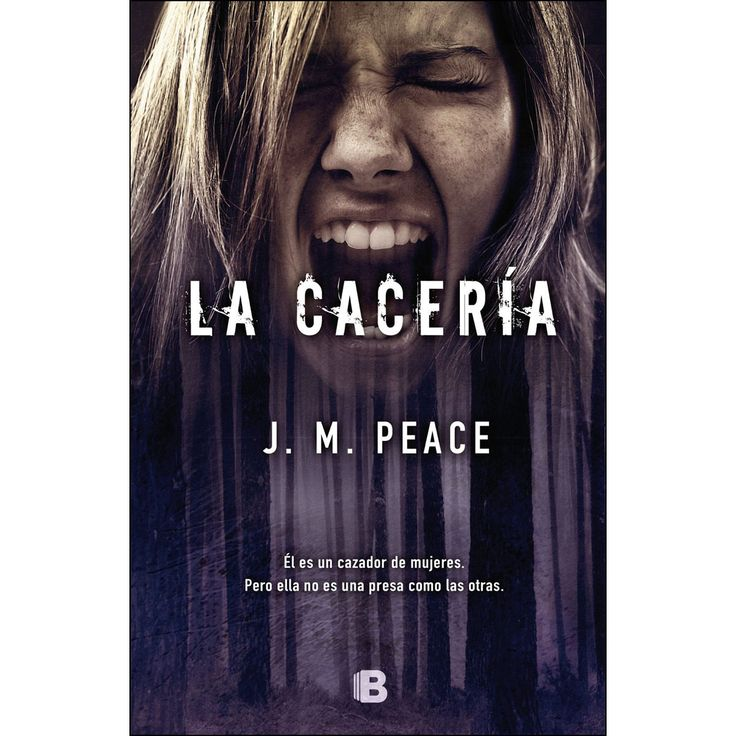 """Él es un cazador de mujeres. Pero ella no es una presa como las otras…  Descubre """"La caceria"""" el nuevo #libro de J. M. #Peace."""