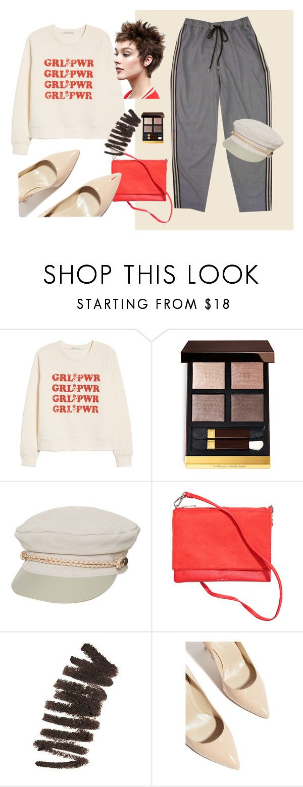 Без названия #31 by ankaminackowa on Polyvore featuring мода, Rebecca Minkoff, Karen Millen, Brixton, Tom Ford and Bobbi Brown Cosmetics