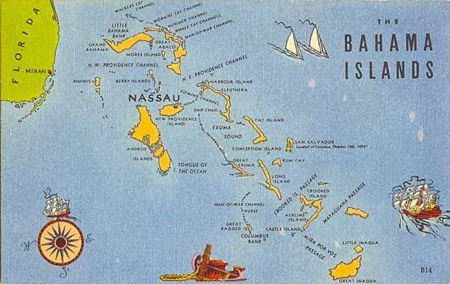 Google Map Bahamas Islands