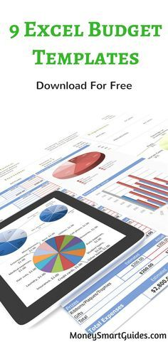 9 Excel Budget Templates. I was looking for a printable spreadsheet to budget and found these great free templates. Thanks for sharing!
