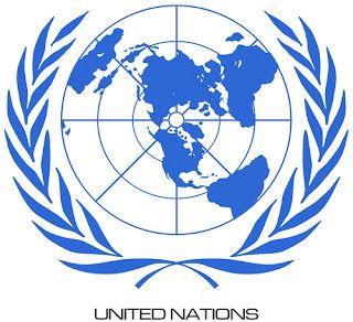 Inilah lambang dari organisasi internasional PBB yang anggotanya hampir semua negara didunia.