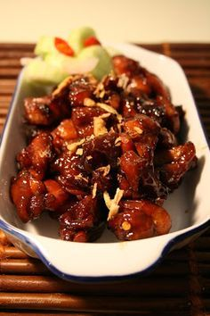 Mochachocolata-Rita: Sate Ayam Kecap Manis - Skewerless Chicken Satay