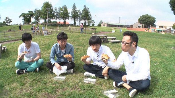 「青春バカリズム」東京03とマザー牧場で気ままに遠足(画像 3/6) - お笑いナタリー