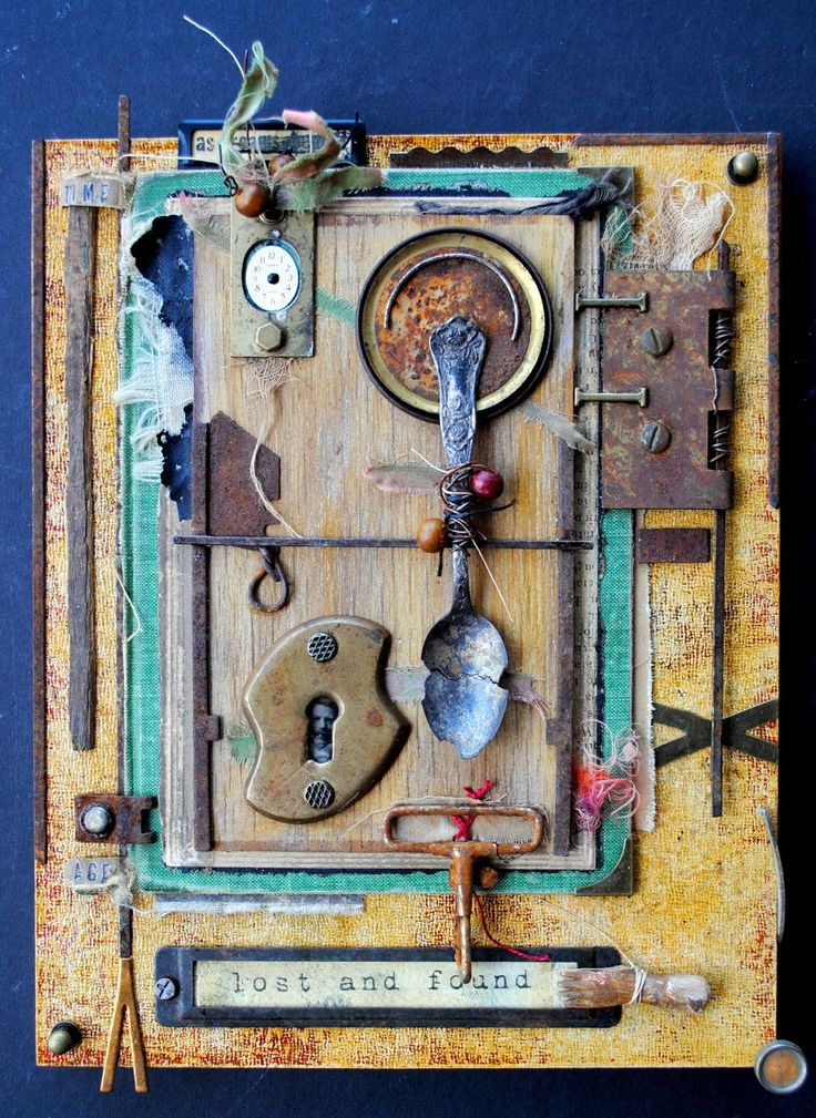 collage-assemblage