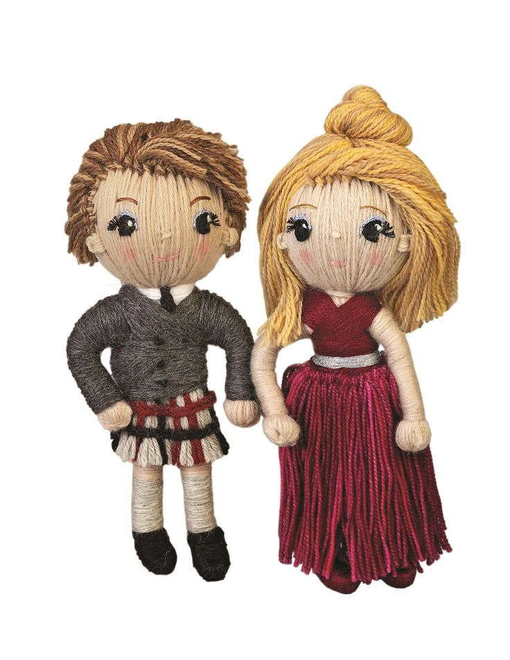 Prince Edward and Sophie Wessex from YARN WHIRLED: The Royal Family book