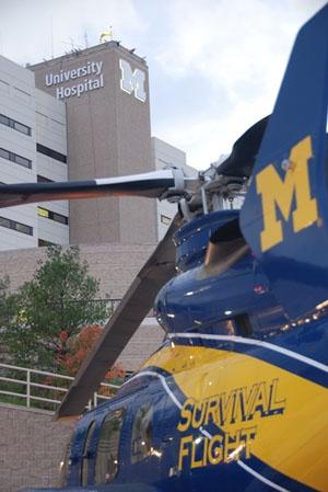 University of Michigan Survival Flight...it's my life long dream to be a flight nurse for any level 1 trauma center!!!