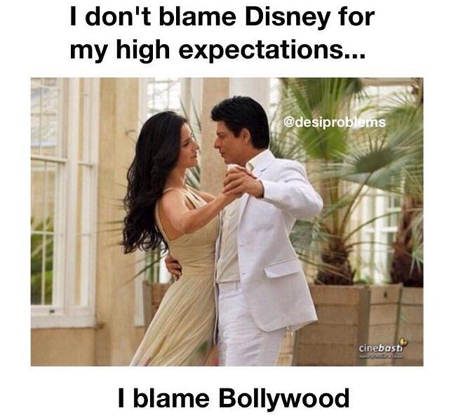 I blame Yash Raj Films mostly and Karan Johar #desiproblems #indianproblems lol #funny