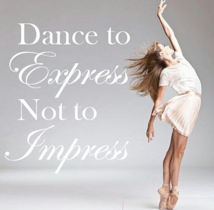 Dance to Express not to impress