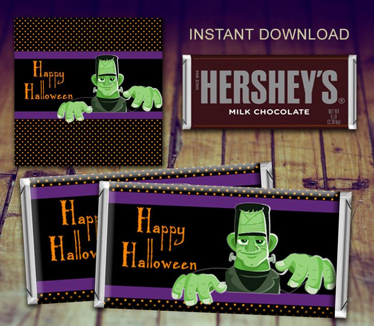 A personal favorite from my Etsy shop https://www.etsy.com/ca/listing/544801662/halloween-candy-bar-wrappers-halloween