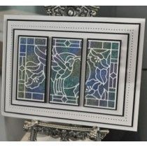 Sue Wilson - Stained Glass Collection - Hummingbird
