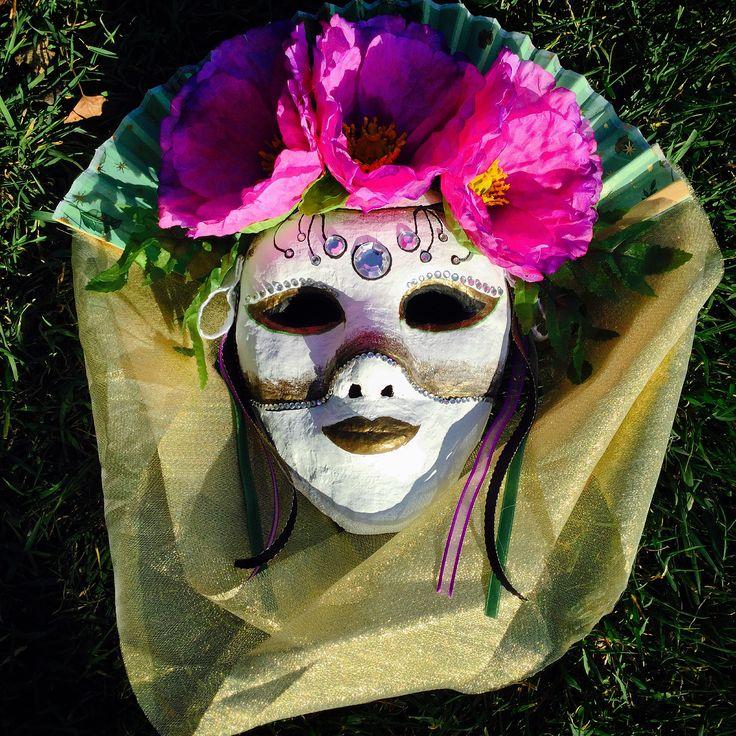 By:Emily Bouchard Venetian Mask