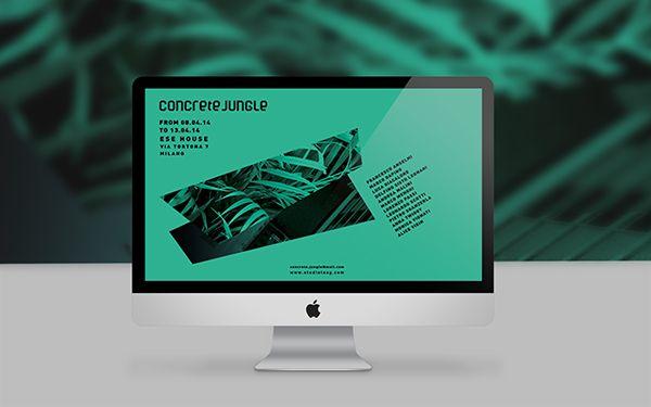 Concrete Jungle - MDW 2014 by Studio TAAG, via Behance