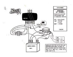 Hunter Ceiling Fan Light Switch Wiring
