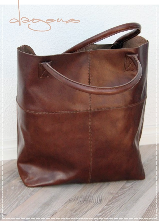 love the color - tote.  According to her website this is an H&M bag purchased a few years ago.  )=