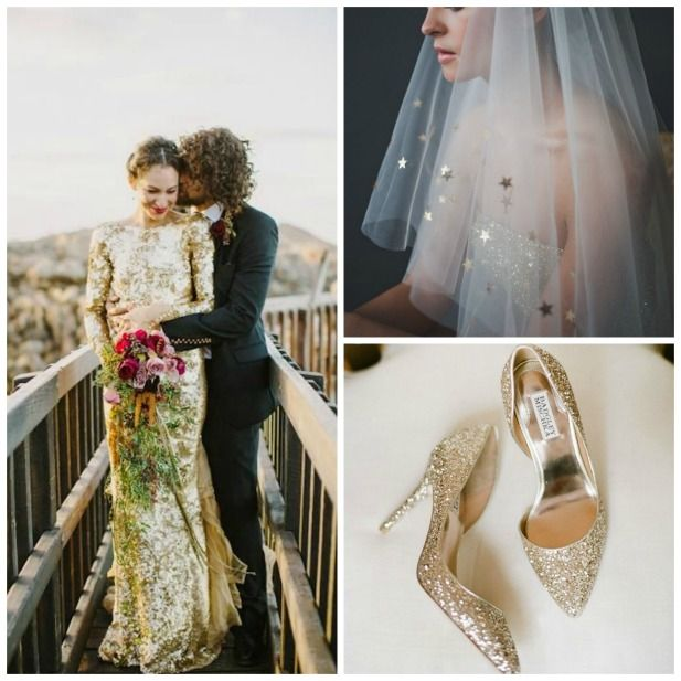 2016 Wedding Trends: Metallic everything