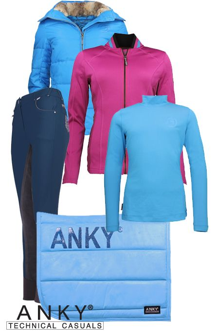 Anky Winter Pink-Blue #Epplejeck #anky #winter16 #pink #blue