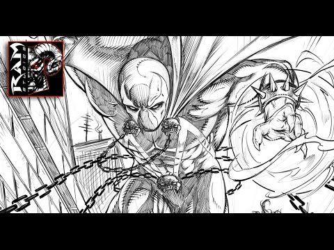 Spawn - Speed Drawing Video - Sketchbook Pro 7 Demonstration http://www.youtube.com/user/mrramstudios1  #drawing #spawn #comic #sketchbookpro