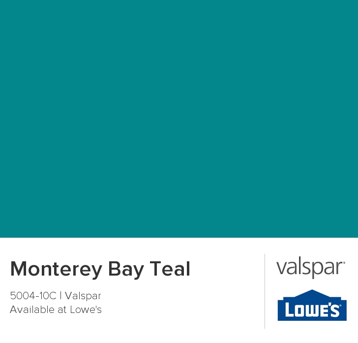 Monterey Bay Teal From Valspar Master Bedroom Accent