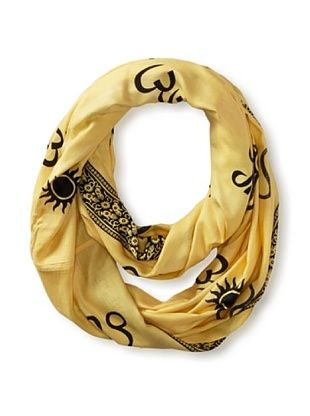 60% OFF Sir Alistair Rai Women's Zodiac Circle Scarf (Leo)