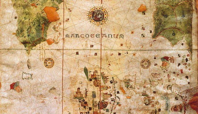 Juan de la Cosa Map | Atlas Obscura