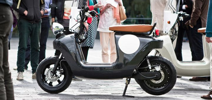 A Look At The World's First Electric Hemp Scooter [Video]